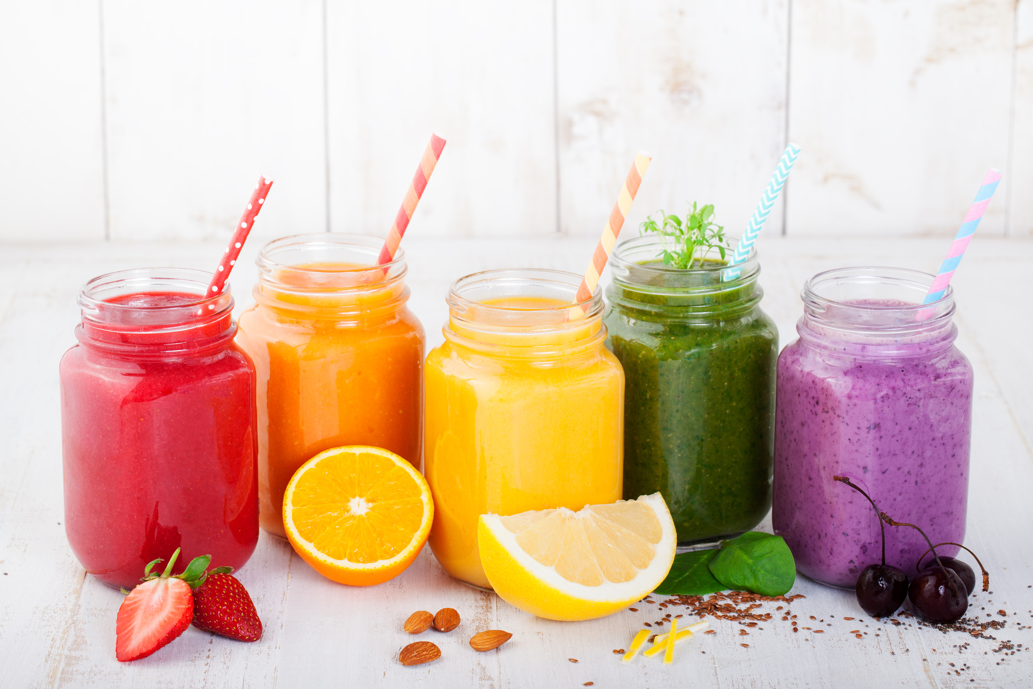 smoothies-a-power-breakfast